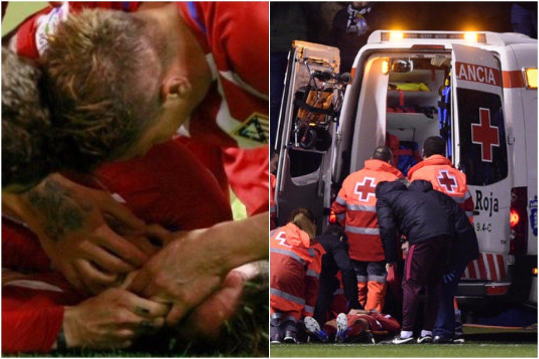 4 minuty horroru. Kibice płakali, piłkarze trzymali się za głowy nad nieprzytomnym gwiazdorem (VIDEO)