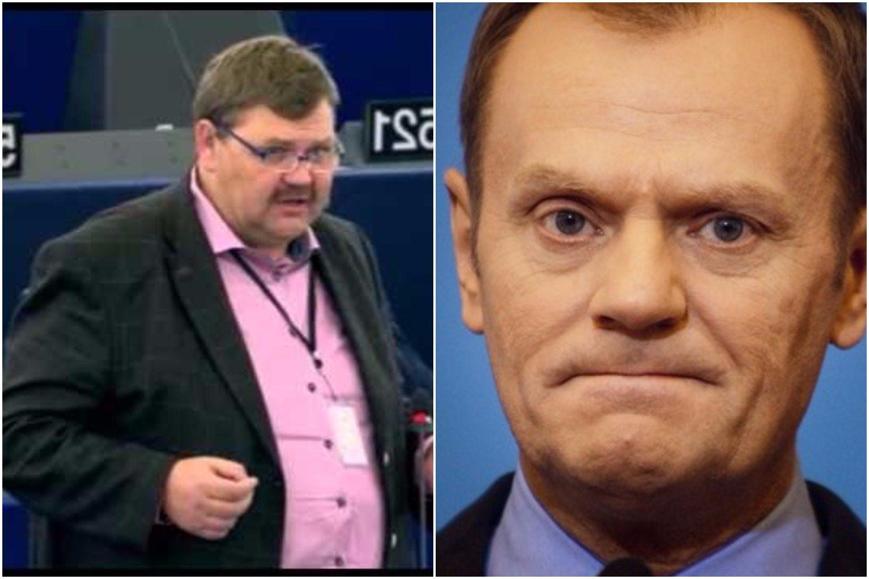 """Szwedzki europoseł ostro do Tuska, mina mu zrzedła. """"Panie Tusk, jesteś pan tu bo..."""""""