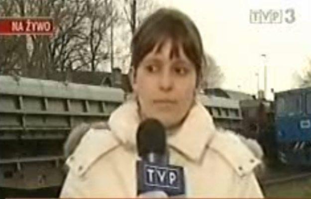 Legendarna wpadka dziennikarki kończy 10 lat. Kto pamięta? (VIDEO)