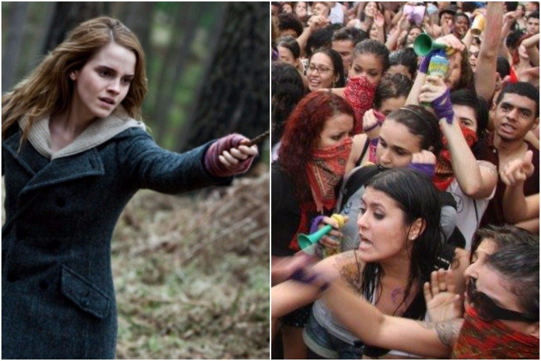 Feministka Emma Watson oblana pomyjami przez feministki. Wszystko prze zdjęcie jej biustu(FOTO)