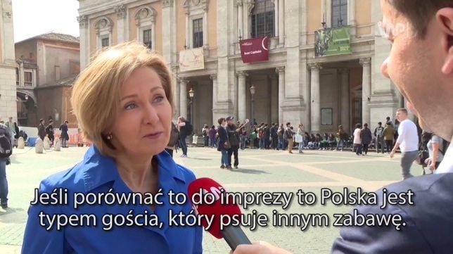 """Zagraniczna dziennikarka grzmi na Polskę. """"Psują nam zabawę!"""""""