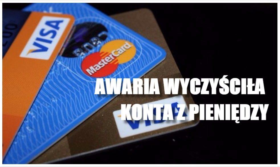 Masz tę kartę? Lepiej sprawdź swoje konto, wielka awaria wyczyściła konta z pieniędzy