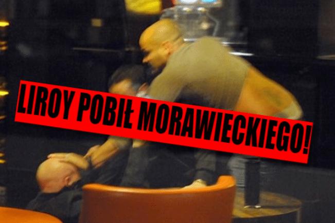 Z ostatniej chwili: Bójka w Warszawie, Morawiecki brutalnie pobity w starciu z Liroyem (VIDEO)