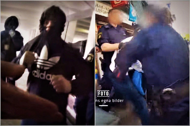 Niepokojące nagranie. Media: Szwedzka policja nie wie co robi