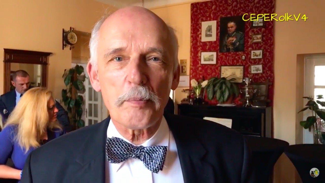 To nie prima aprilis. Janusz Korwin-Mikke znowu zmienia nazwę partii! (VIDEO)