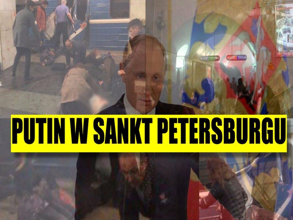 Z ostatniej chwili: Putin w chwili zamachu był w Sankt Petersburgu!