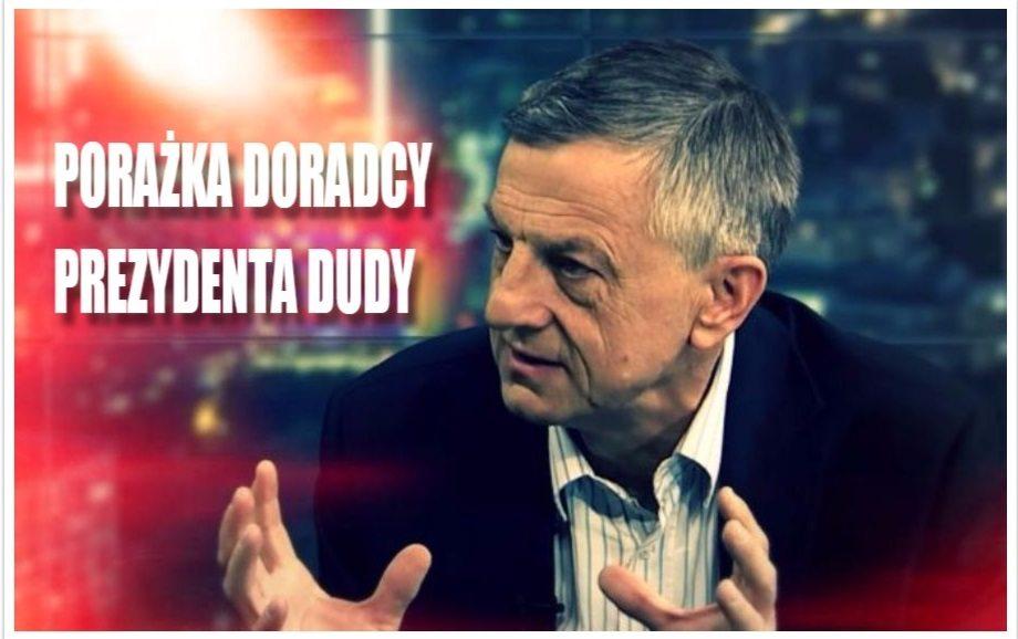 Wstydliwa wpadka doradcy prezydenta Dudy. Jeden wpis na TT obnażył jego niewidzę