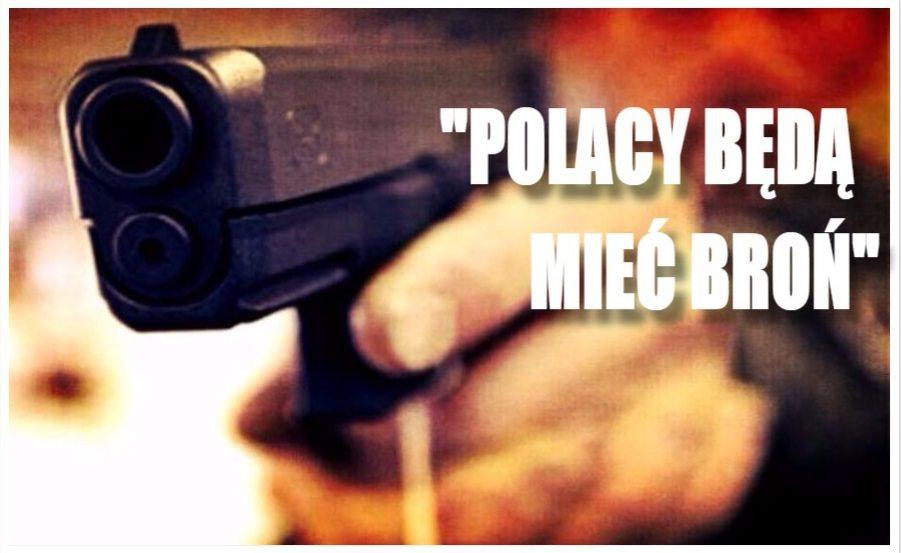 """Poseł PiS zdradził plany partii! """"Polacy chcą mieć broń i będą ją mieć"""""""