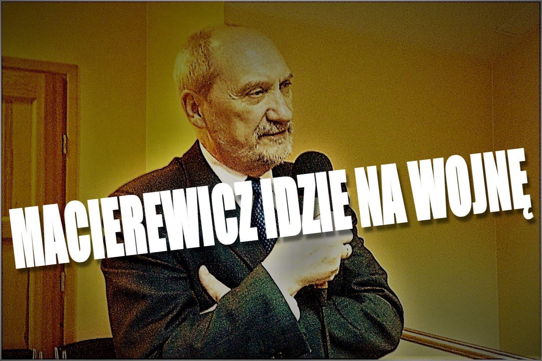 Ostre starcie w rządzie. Macierewicz idzie na wojnę z minister PiS