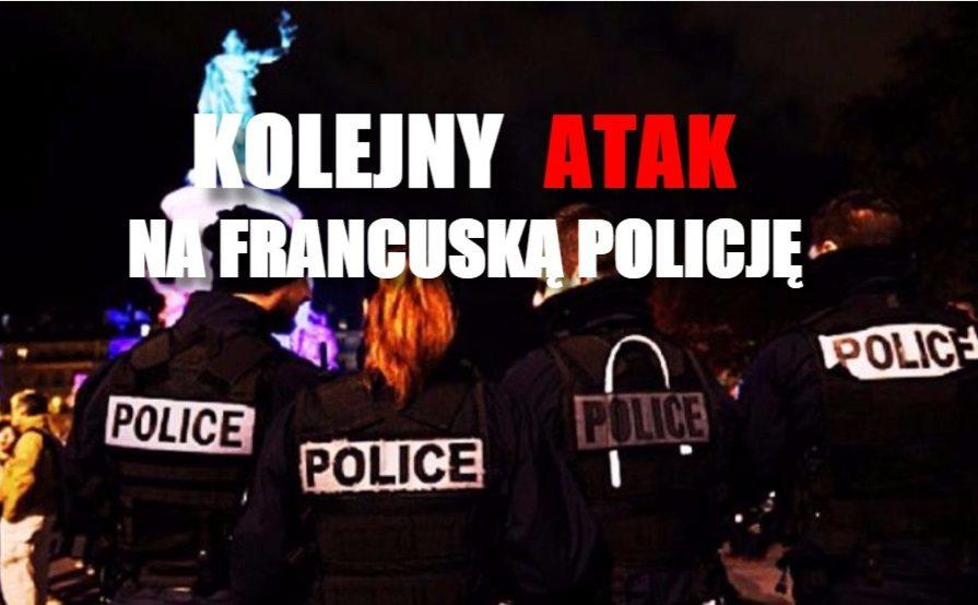 Francja: Kolejny atak na policjantów. Ludzie wpadli w masową panikę (VIDEO+ZDJĘCIA)