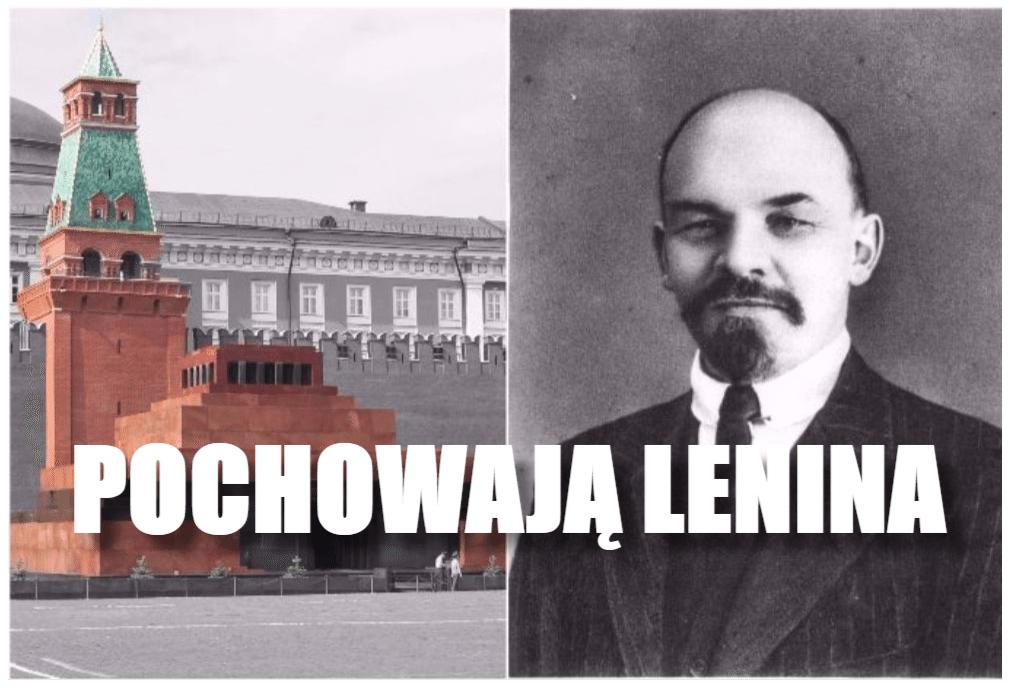 Rewolucja w Rosji. Zwłoki Lenina znikną z Placu Czerwonego