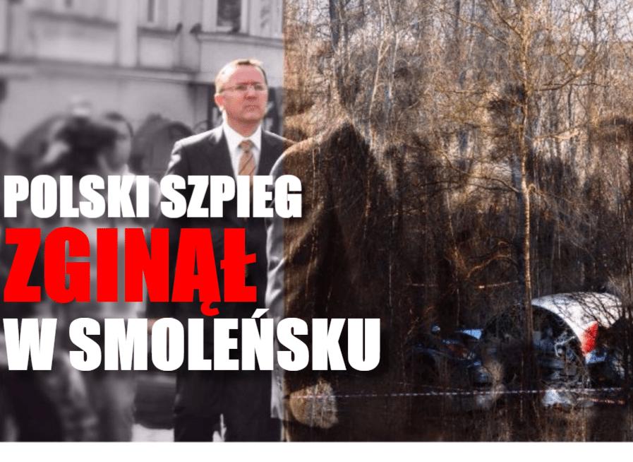 IPN ujawnia: W smoleńsku zginął polski szpieg. Był ważną osobistością w MSZ