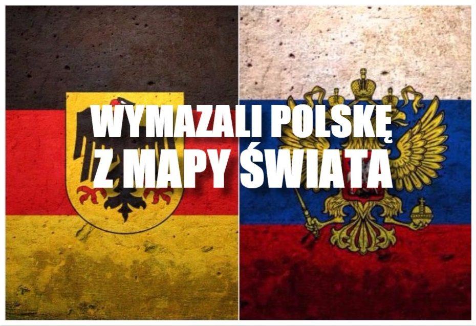 Niemcy graniczą z.. Rosją! Wymazali Polskę z mapy świata (FOTO)
