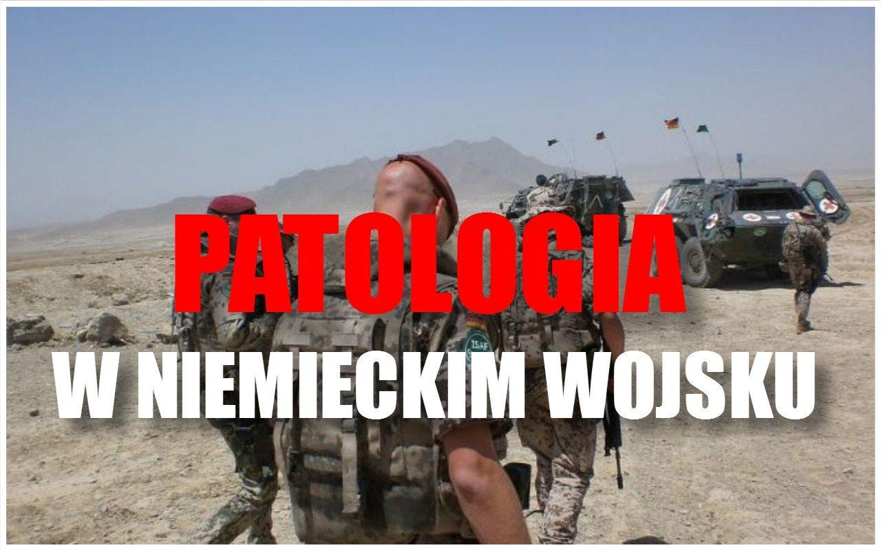 Absolutna patologia w niemieckim wojsku. Oficer aresztowany