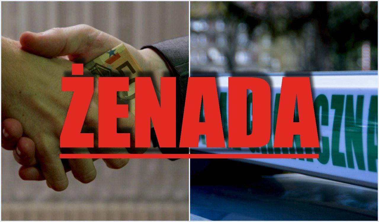 Ale żenada! Syryjczyk chciał przekupić polską Straż Graniczną