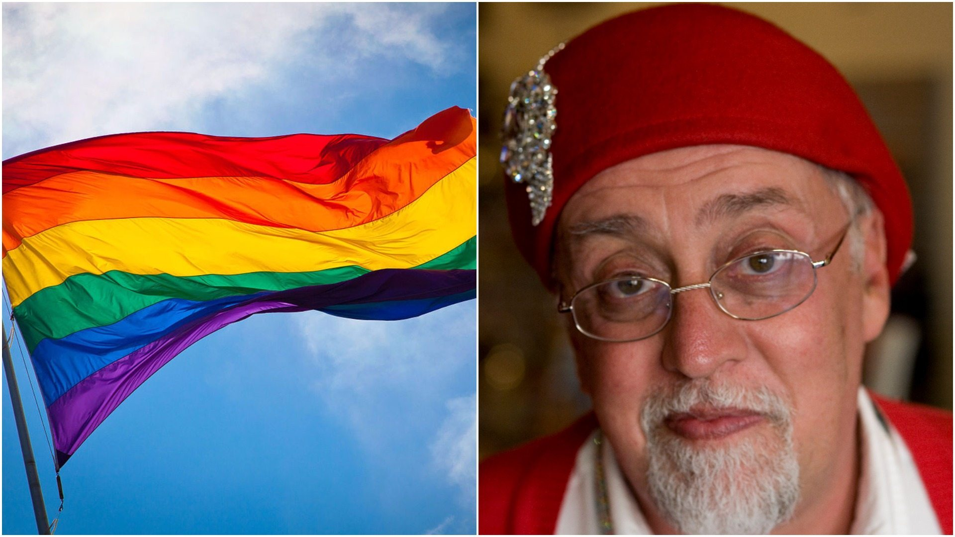 Zmarł twórca flagi homoseksualistów