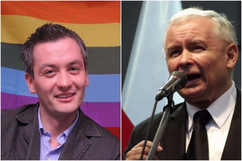 """Biedroń grozi Kaczyńskiemu. """"Jeśli mnie wkurzy, to..."""""""