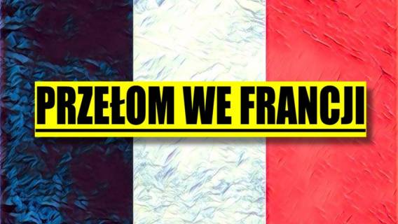 Przełom we Francji! Jeden z kandydatów zyskał miażdżącą przewagę