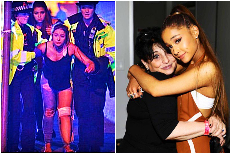 Mama Ariany Grande była na koncercie w Manchesterze. Media huczą o tym co zrobiła