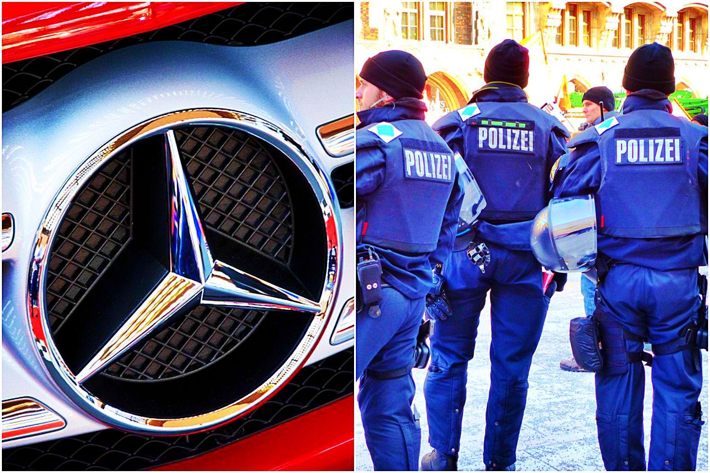 Wielka policyjna akcja przeciwko Mercedesowi. Oszukują jak bazarowi handlarze