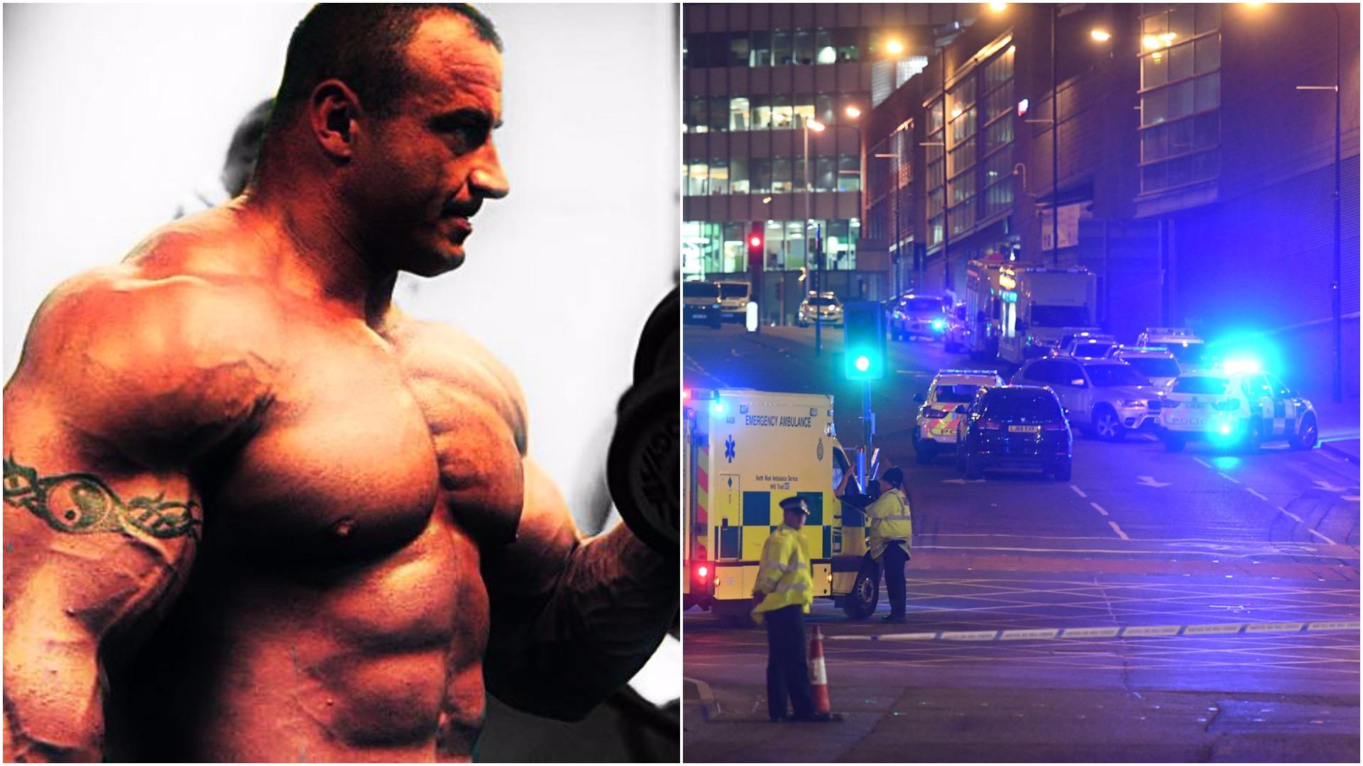 """Pudzian bezlitośnie o zamachowcu z Manchesteru, """"Z takimi bydlakami to..."""" (VIDEO)"""