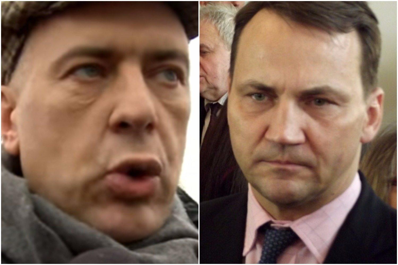 Sikorski i Giertych zbudują pomniki Kaczyńskiego. Napisy na nich wywołały FURIĘ PiS-u
