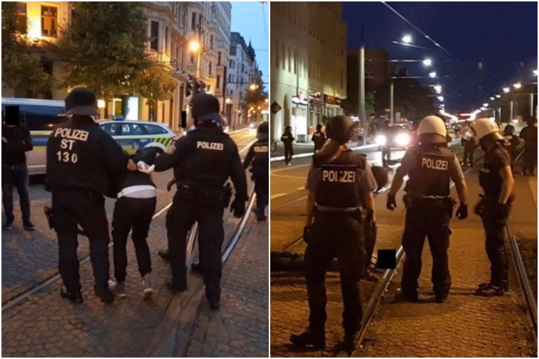 W mediach cisza, a w nocy się działo. TOTALNA demolka w niemieckim mieście (FOTO+VIDEO)