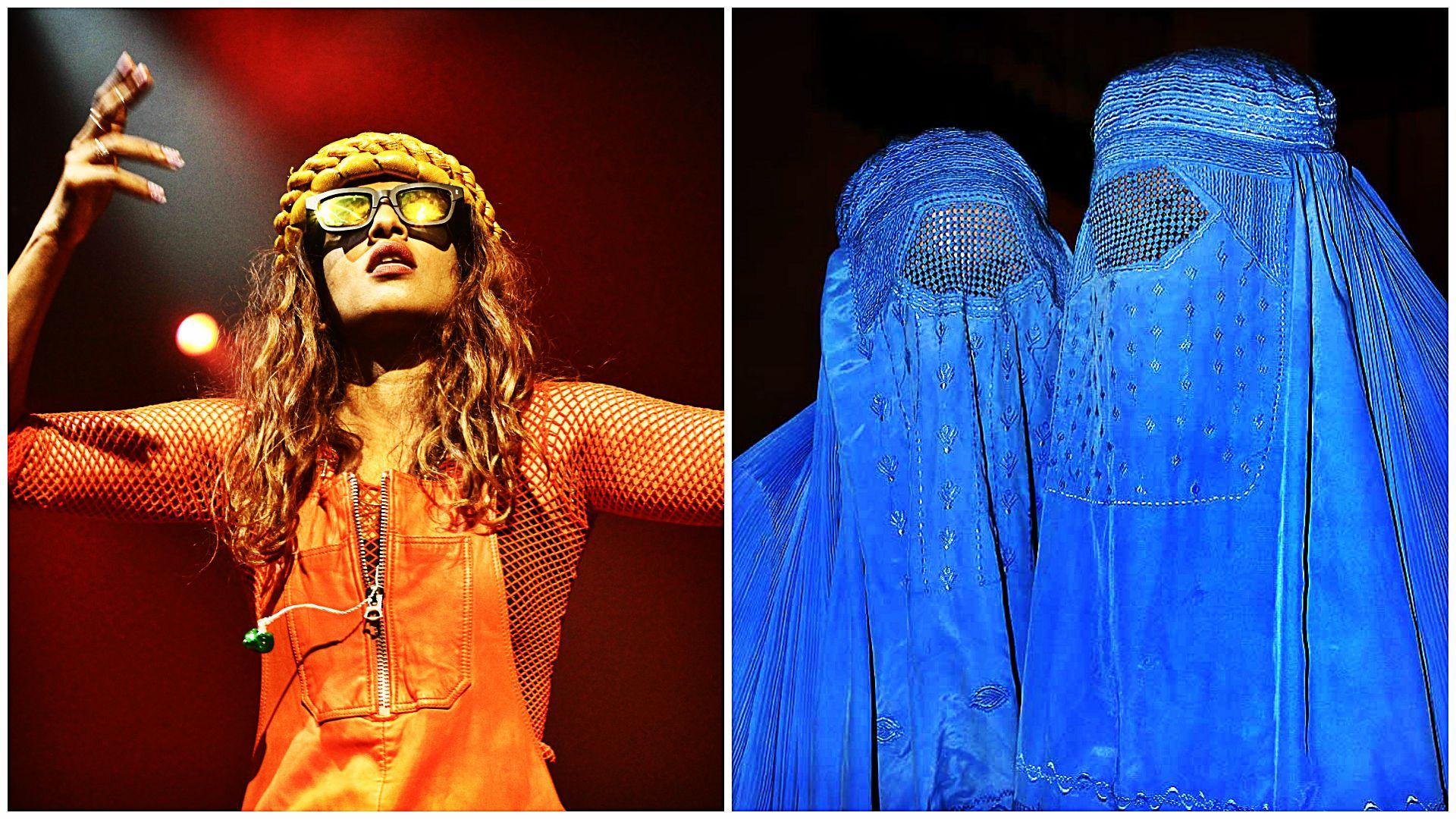 Niecodzienne wymagania artystki. Wszędzie chciała mieć kobiety w burkach!