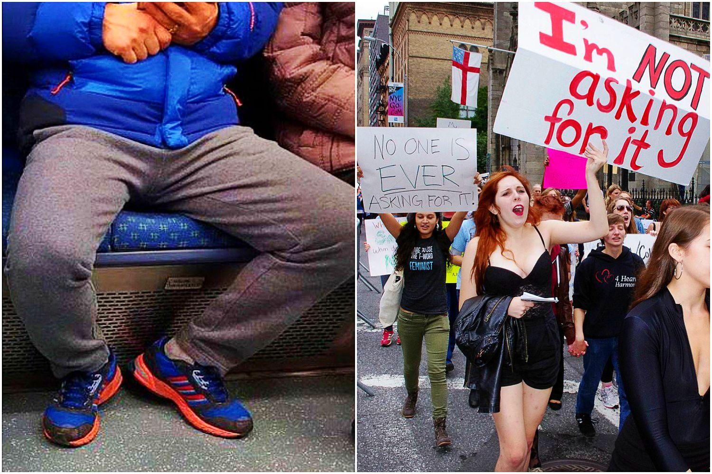 Władze zakazały mężczyznom rozkładania nóg. Po interwencji feministek