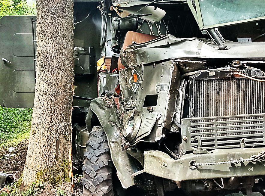 Tragiczny wypadek polskiego wojska. Żołnierze w szpitalu (FOTO)