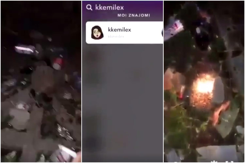 """""""Ku*wy nie dziewczyny, zniszczyć je!"""". Paskudne gimnazjalistki spaliły żywcem jeża (VIDEO 18+)"""