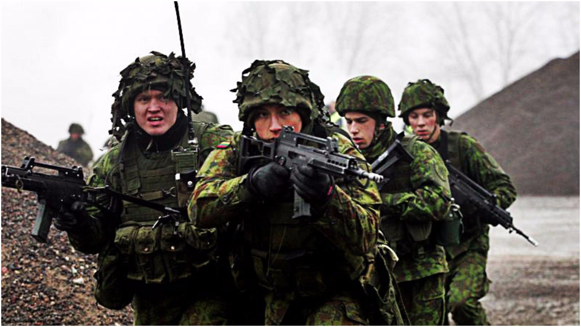 OGROMNE manewry wojskowe na Litwie. Uczestniczą też Polacy