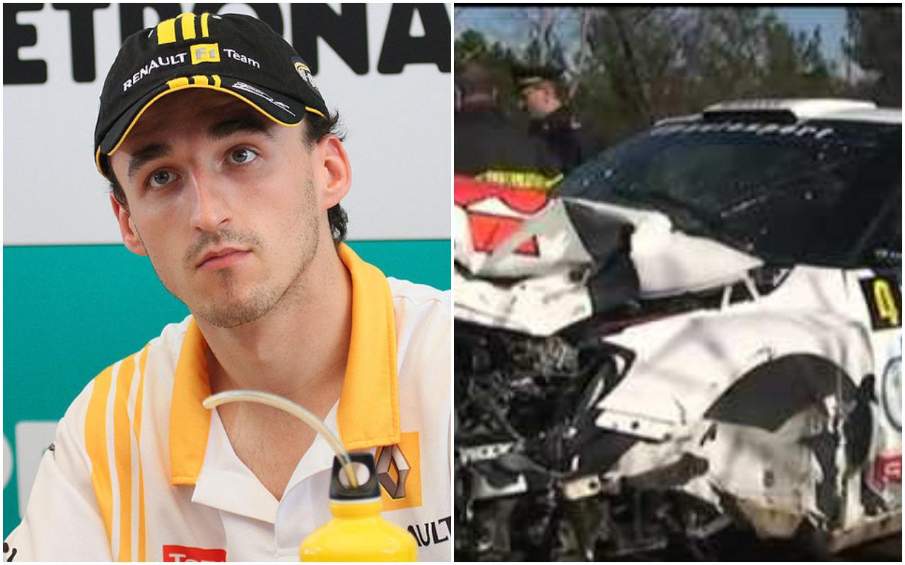 Kubica pokazał, jak wygląda jego ręka po wypadku. Różnica jest szokująca