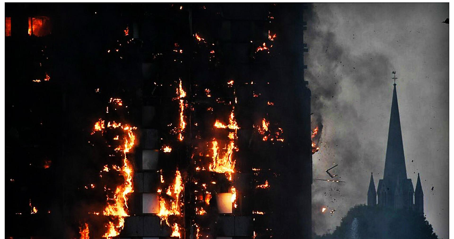 Znamy już los polskiej zaginionej w pożarze londyńskiego bloku mieszkalnego