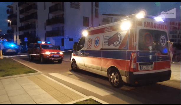 Zagrożenie bombowe w dzielnicy Kaczyńskiego