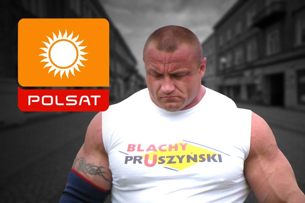Pudzian wylatuje z Polsatu! Zastąpi go młody YouTuber