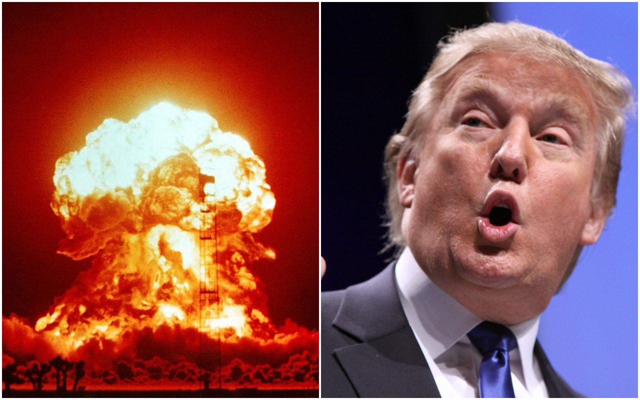 Żarty się skończyły. Trump gotów użyć BRONI NUKLEARNEJ!