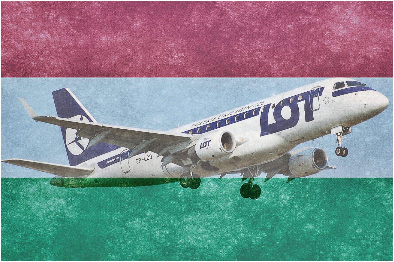 LOT będzie... narodową linią lotniczą Węgier