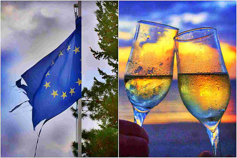 Zwolennicy wyjścia Polski z Unii otwierają szampany. Ten SONDAŻ nie pozostawia wątpliwości