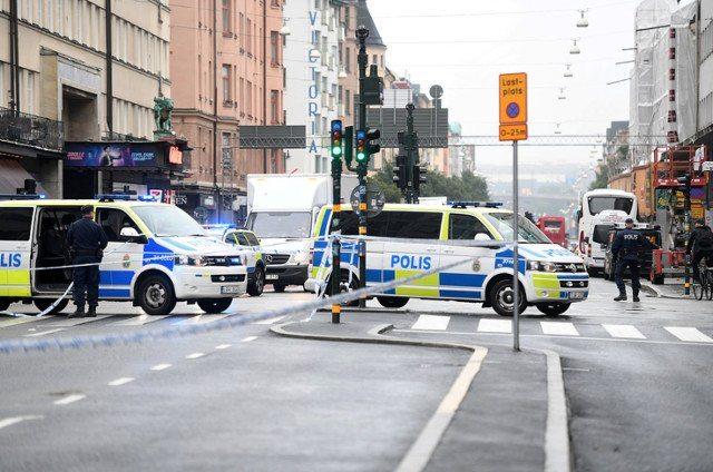 Zamach w Sztokholmie. Muzułmanin w furii (foto)
