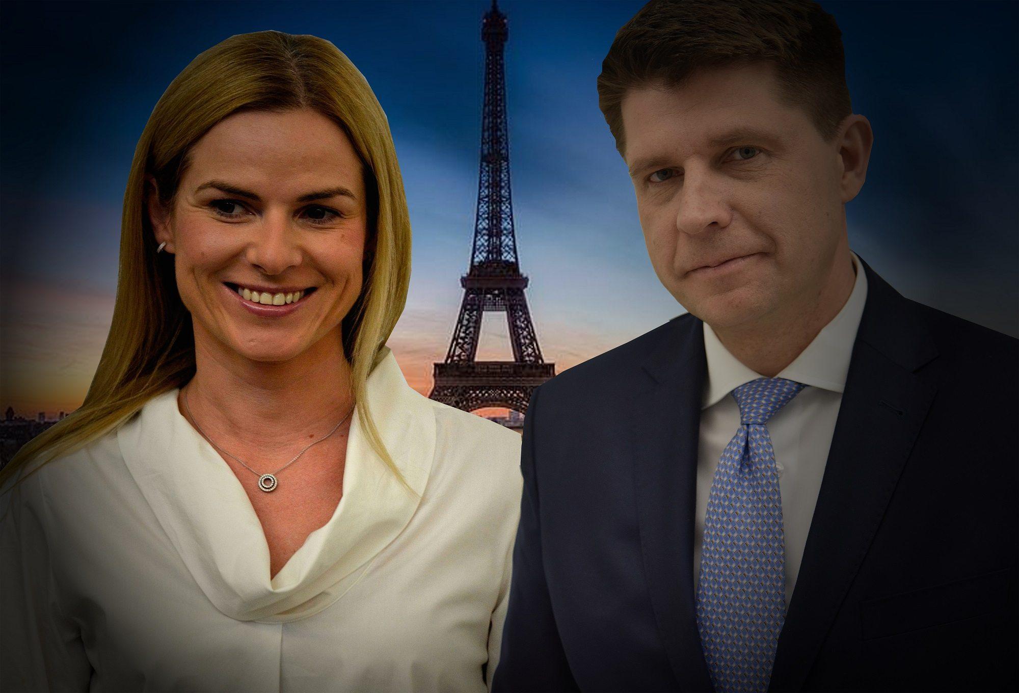 Wyciekły romantyczne zdjęcia Petru i Schmidt z Paryża