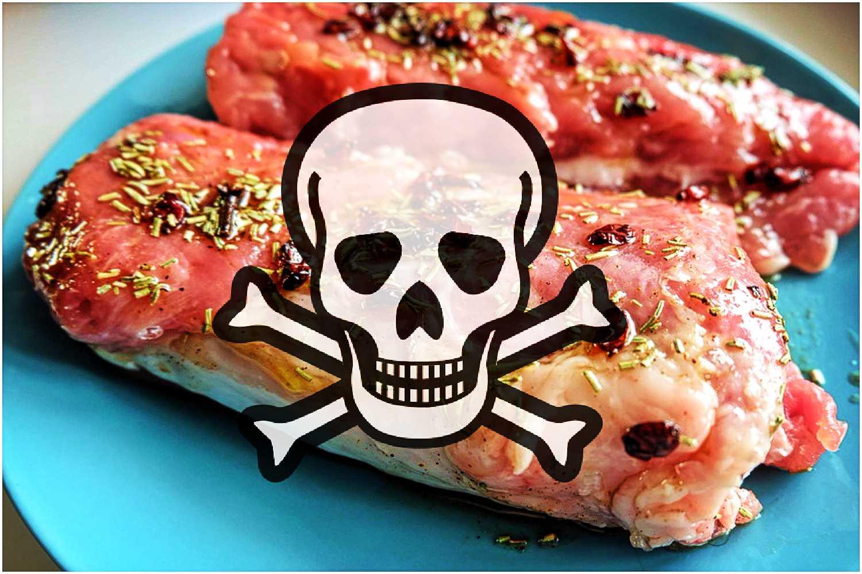 Lekarze alarmują: Nie jedźcie tego mięsa, jest zakażone!