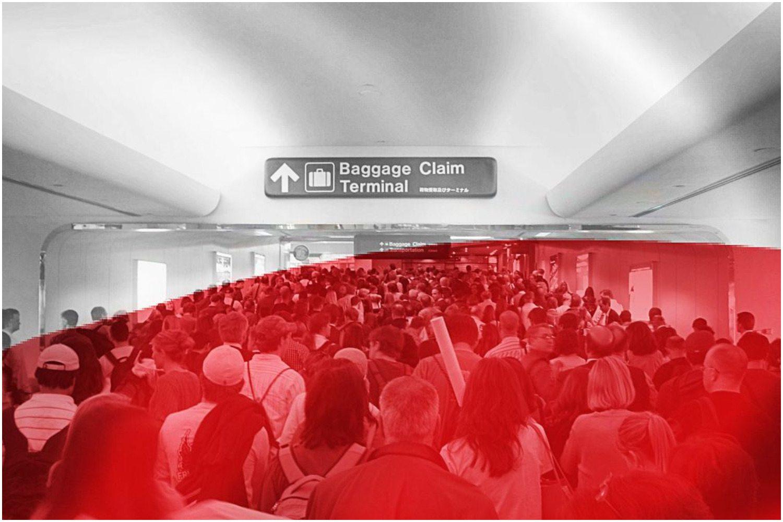 Chaos w porcie lotniczym. 150 Polaków uwięzionych