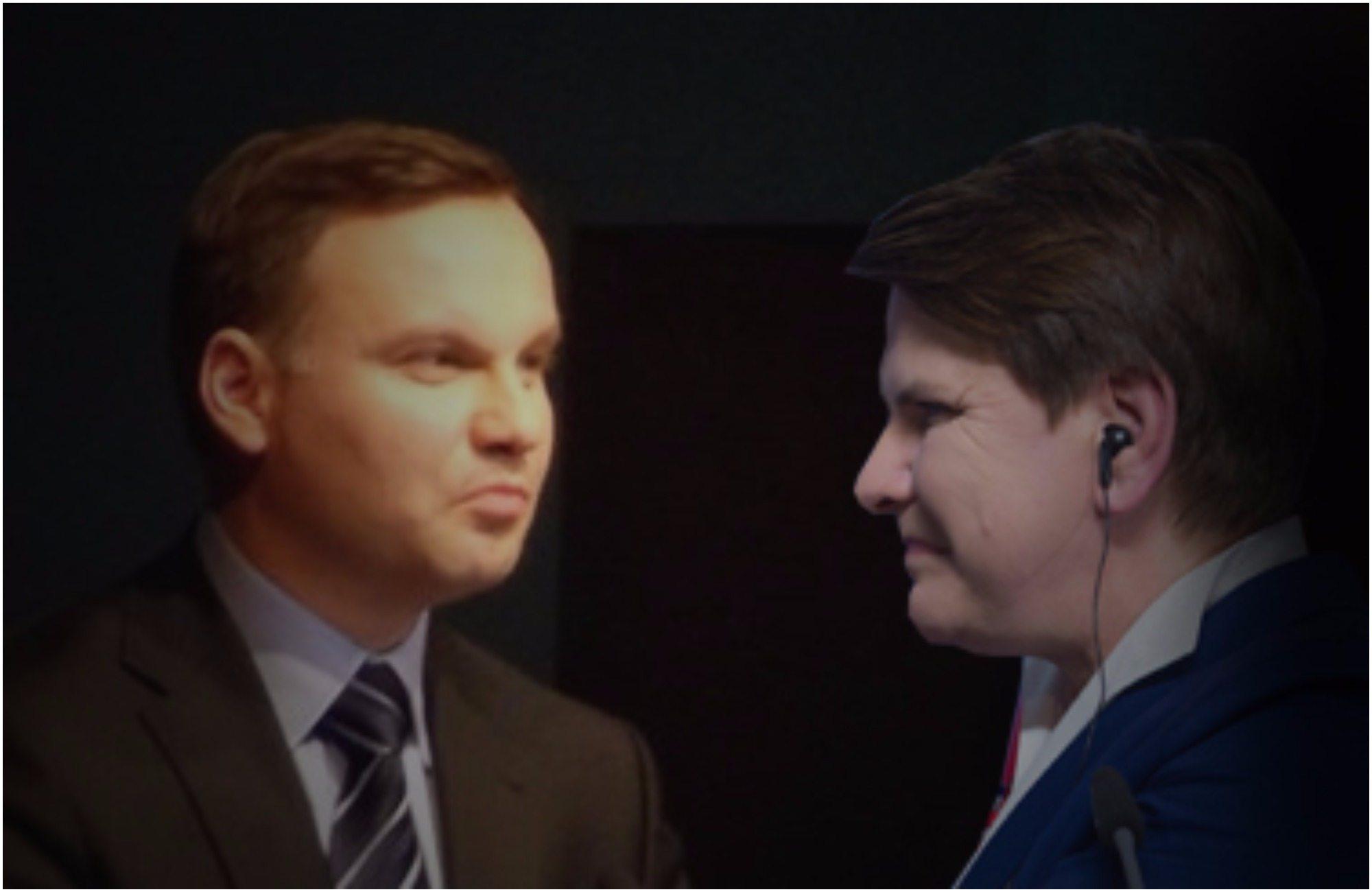 Totalne dno relacji Szydło z Dudą. Premier mocno uderzyła w prezydenta