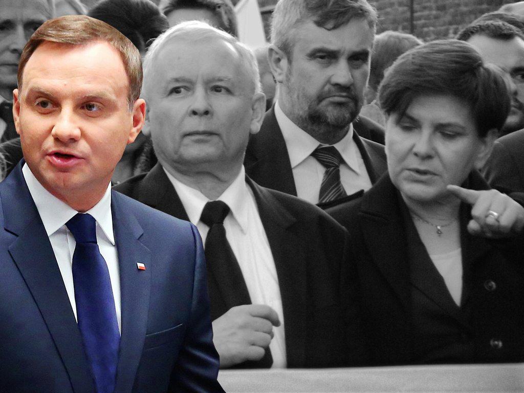 """Wojna w PiS po słowach rzecznika prezydenta Dudy. """"Zwolnić go!"""""""