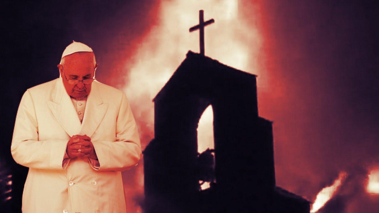 Zaczęło się! Franciszek przerażony, otwarty bunt w Kościele