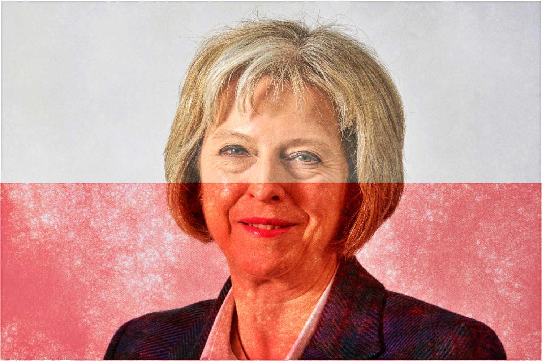 Premier Wielkiej Brytanii napisała specjalny list do Polaków
