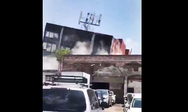 Tragedia w Meksyku. Przerażeni ludzie, potworne zniszczenia, zawalone budynki (video)