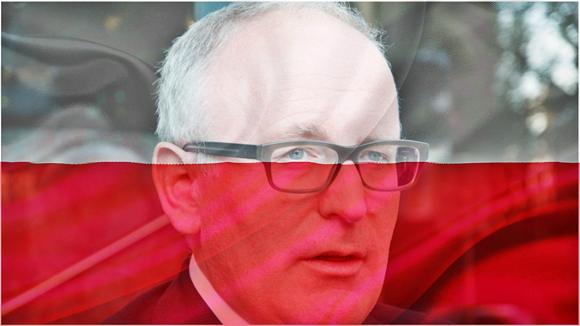 Za te słowa o Polsce chcą odebrać Timmermansowi ordery