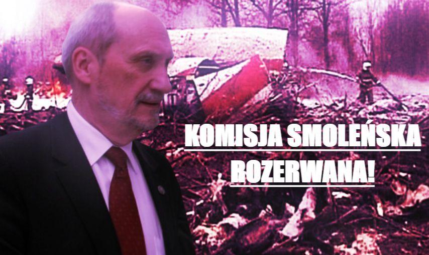 Komisja smoleńska rozerwana! Macierewicz w szoku